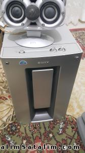 sony aktıv subwoofer magnetically shılded wms815