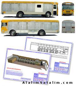 Mobil anaokulu Gezici anaokulu İmalatı Üretimi