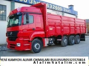 ESKİ YENİ HURDA KAMYON ALINIR05416098001