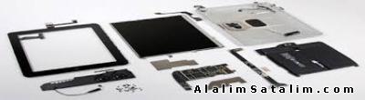 LCD Samsung Galaxy S3 siyah beyaz çakı