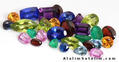 Satılık gemstones Taşlar
