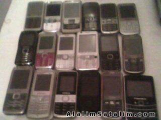 satılık 60 adet çin malı hurda cep telefonu