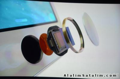 Apple  iphone5s  5s   home tuşu home button deği
