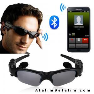 Bluetooth Gözlük Kulaklık