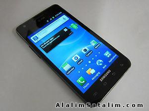 LCD  Samsung Galaxy S2 siyah beyaz çakı
