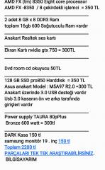 581d7840a130c 4 çekirdekli bilgisayar ilanları - ikinci el alışveriş - 2.el seri ilan